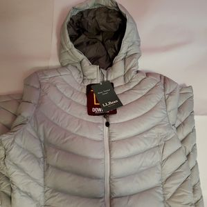 LL BEAN Women's Down Jacket Medium